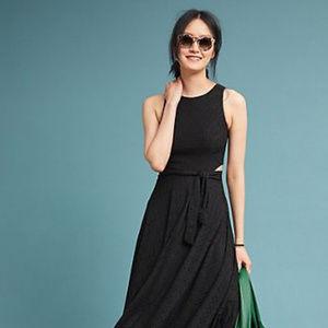 Beautiful Anthropolgie Black Dress by Hutch